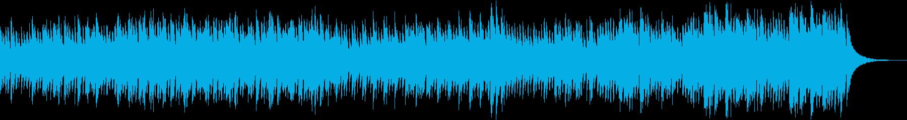 ハープとベルが奏でるウェディングソングの再生済みの波形