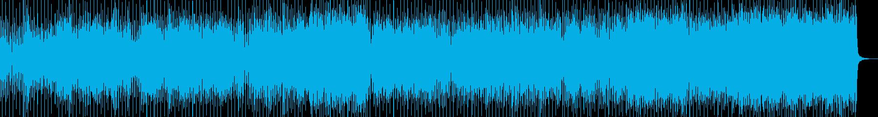 キャッチーなアップビートポップ/ロ...の再生済みの波形