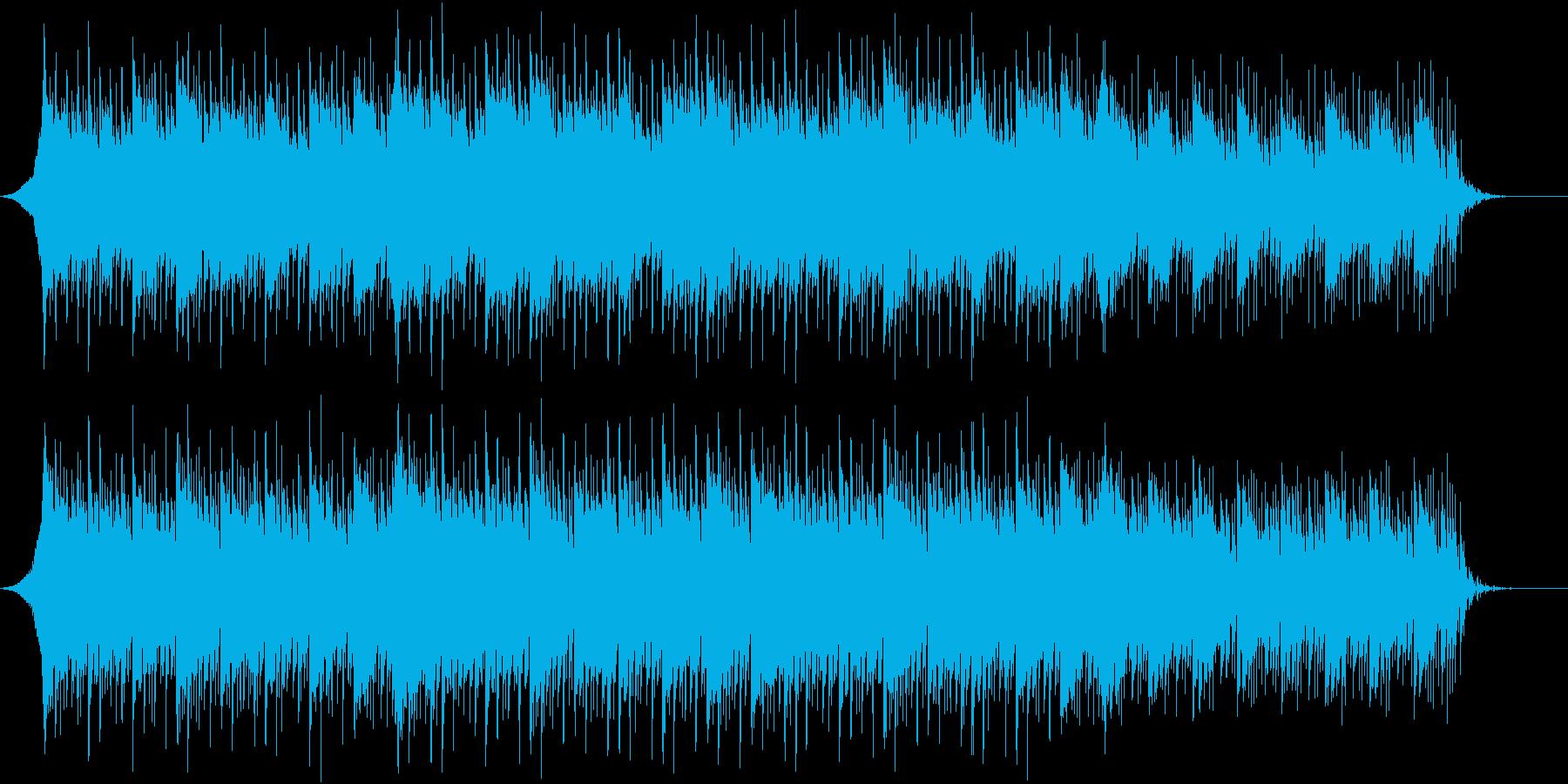 企業VPや映像に爽やかギター (Mid)の再生済みの波形