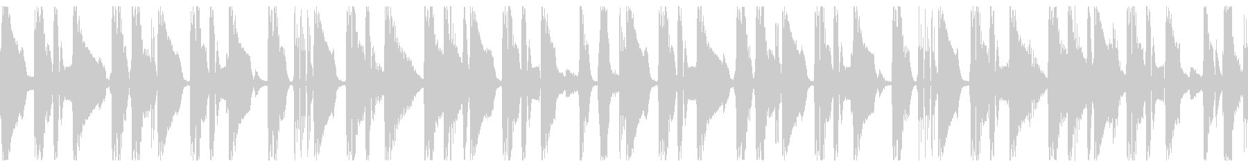 Jazz風なシンプルBGMループですの未再生の波形