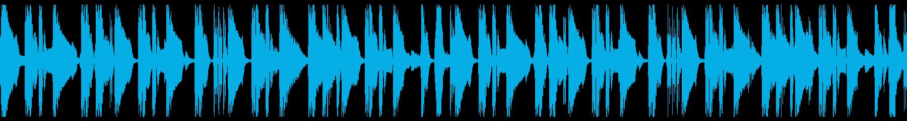 Jazz風なシンプルBGMループですの再生済みの波形