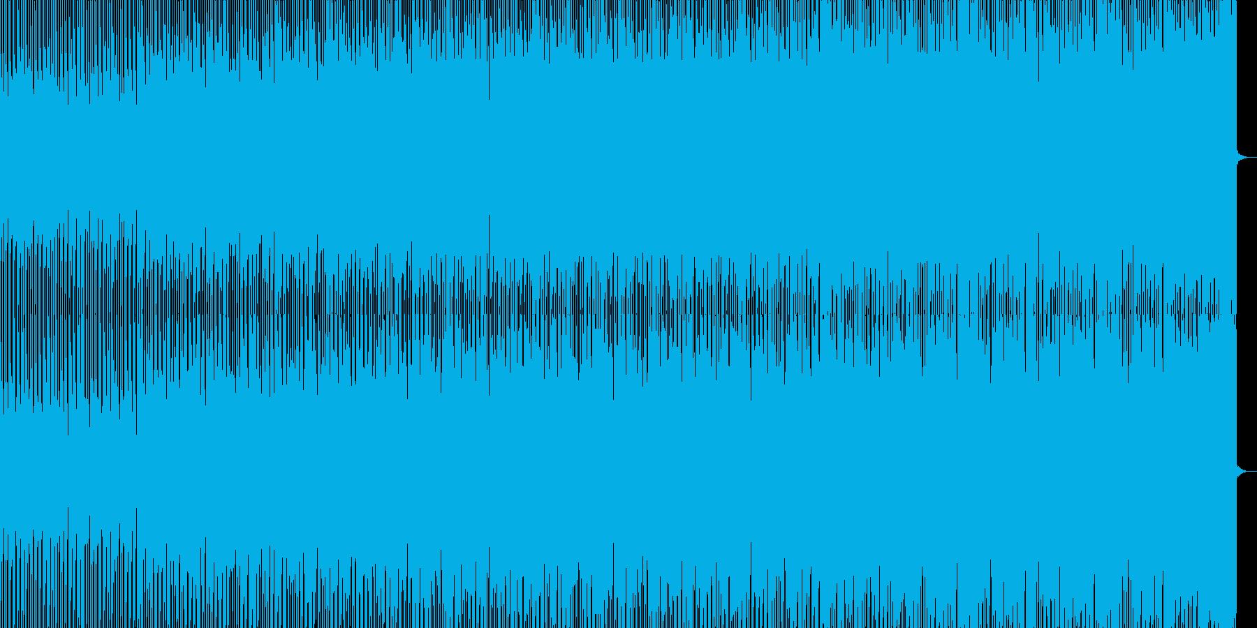 突き抜けるシンセのメロが気持ちいいビートの再生済みの波形