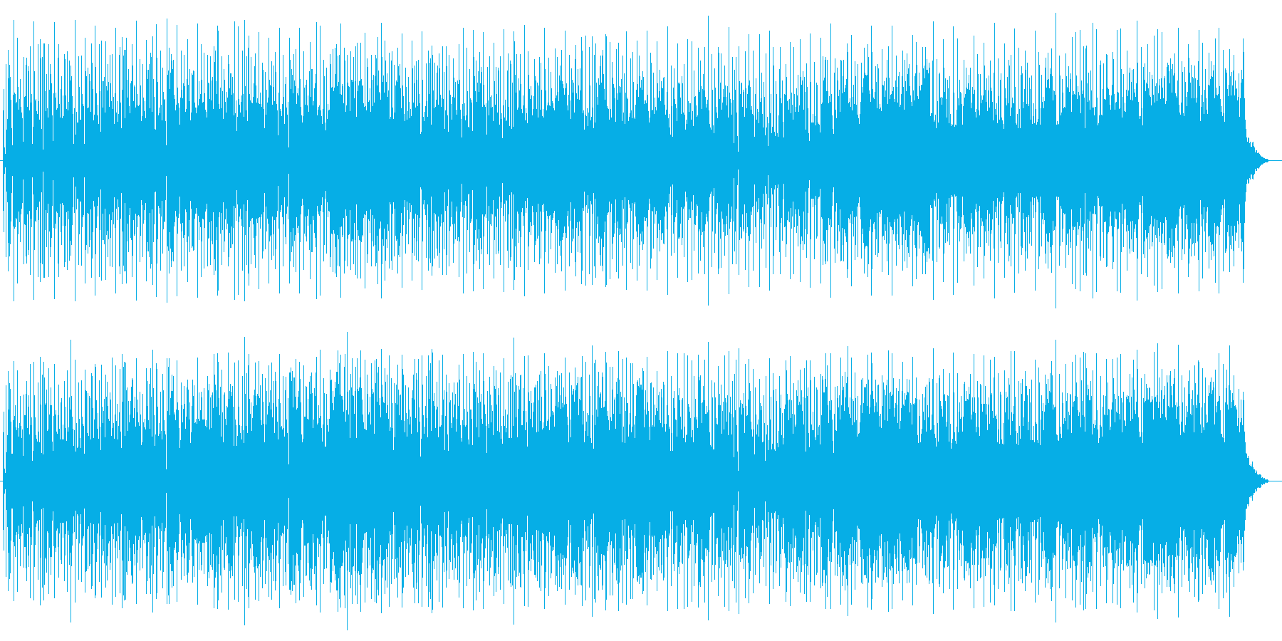メローでメロディアスなエレキサウンドの再生済みの波形