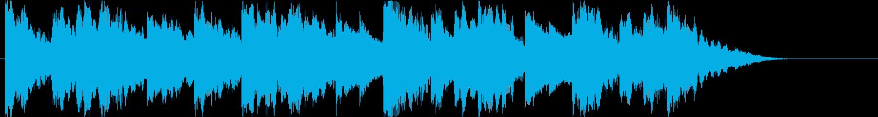 切ない雰囲気の曲/その2の再生済みの波形