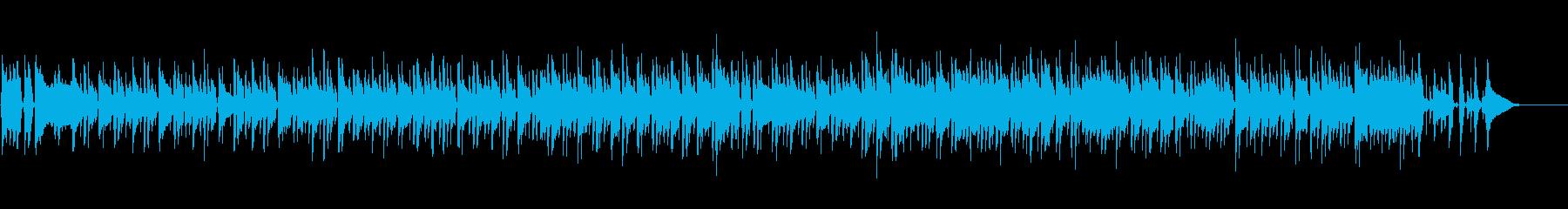 リラックス・爽やかアコースティックボッサの再生済みの波形