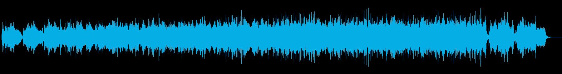ピアノとストリングスの勇気が出るバラードの再生済みの波形