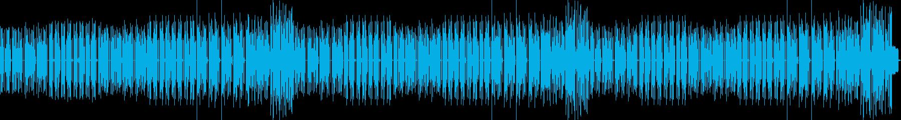 和風シンセベースの再生済みの波形