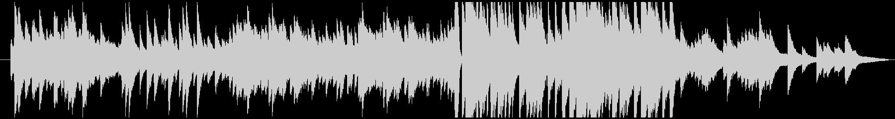 ピアノメインの温かな感動系BGMの未再生の波形