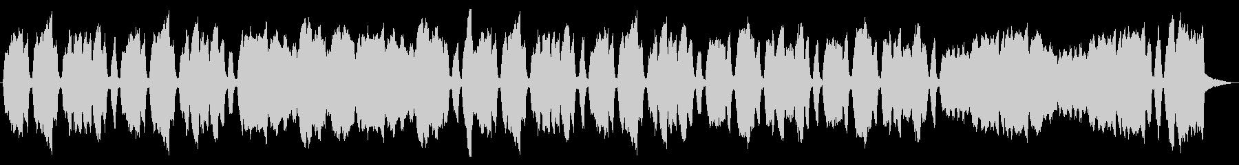 彷徨う様子を表現するパイプオルガンの未再生の波形