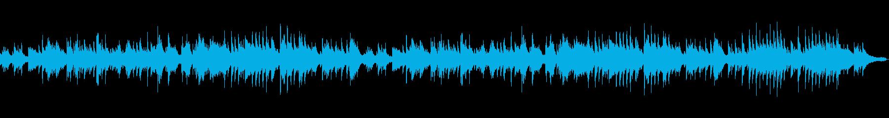 癒しピアノソロ。配信アプリのBGM等にの再生済みの波形