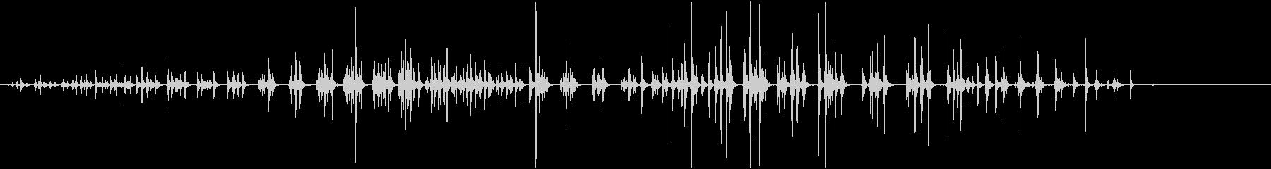 ウマ:ギャロップスインダート。の未再生の波形