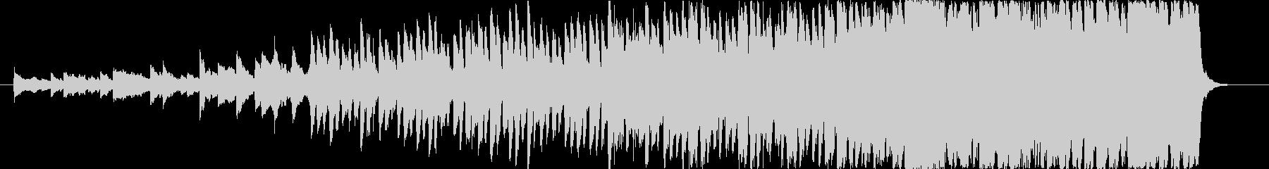 現代的 交響曲 実験的な アンビエ...の未再生の波形