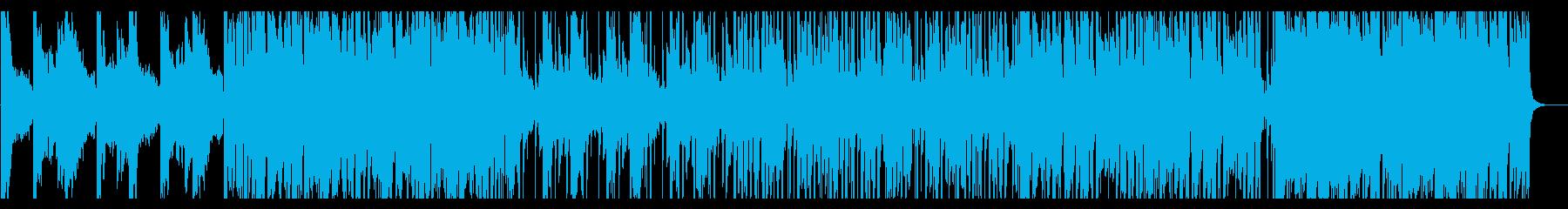 情緒的/R&B_No399_2の再生済みの波形