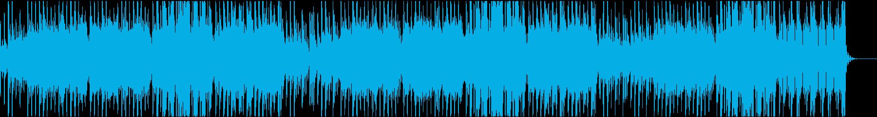 ヒップホップ レトロ ポジティブ ...の再生済みの波形