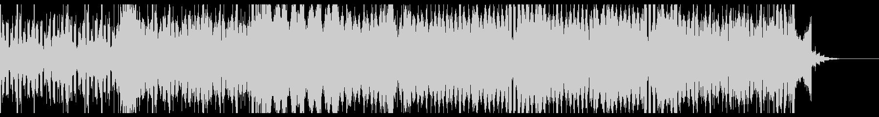 シンセを使った明るい雰囲気のBGMです。の未再生の波形