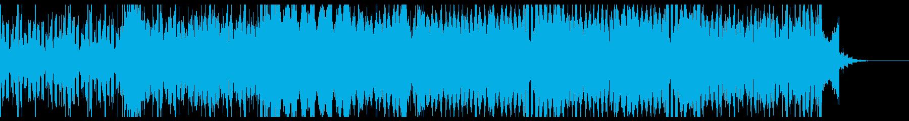 シンセを使った明るい雰囲気のBGMです。の再生済みの波形