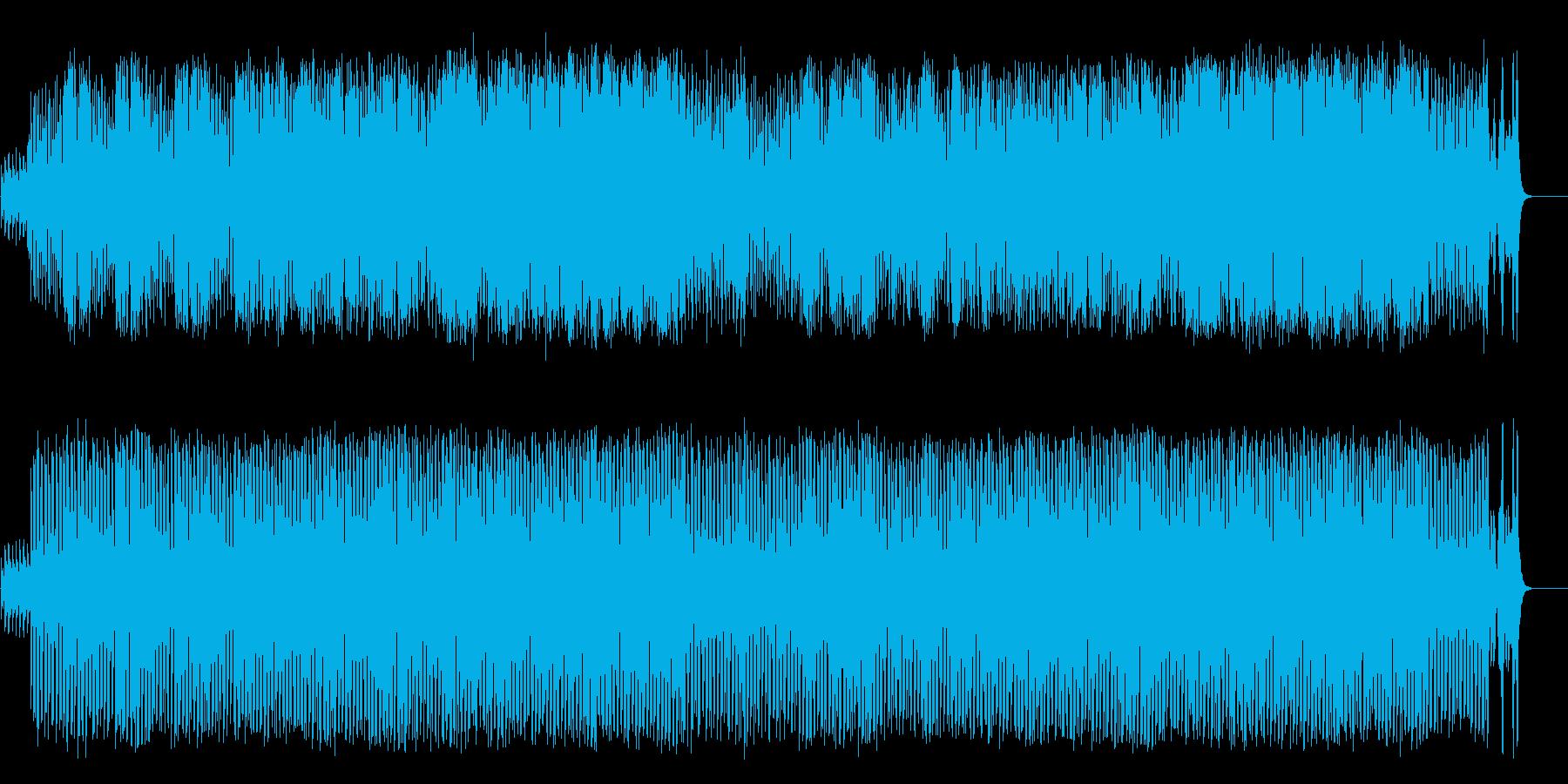 懐かしブギウギ和風ポップ(フルサイズ)の再生済みの波形