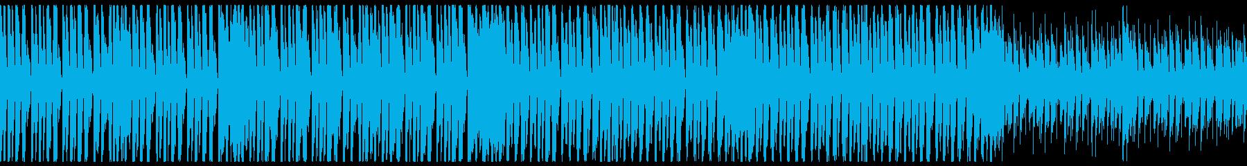 ブラスが華やかエレクトロスイング(ループの再生済みの波形