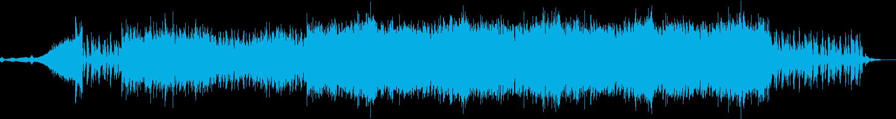 SNSで使えそうなダンサブルテクノPOPの再生済みの波形