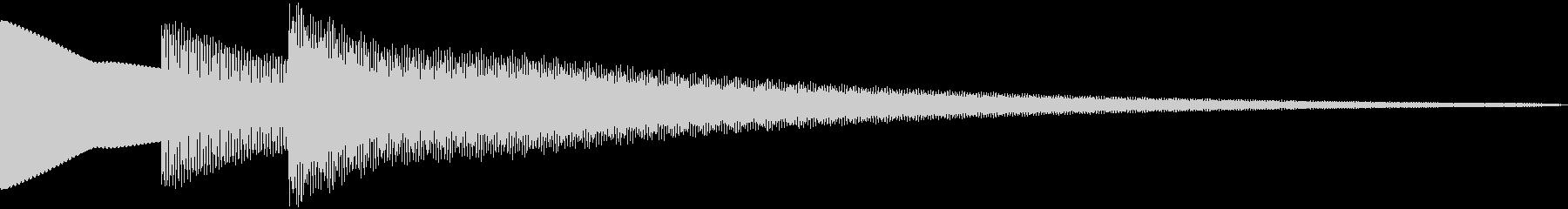 ティコリーン  (シンプル)の未再生の波形