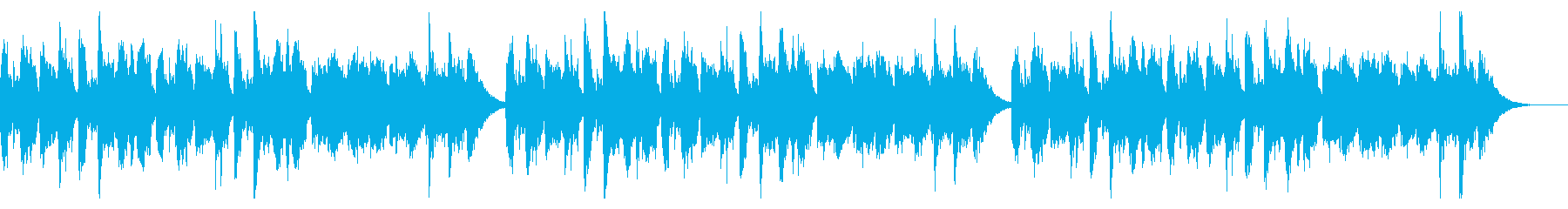 定番の昔話の再生済みの波形