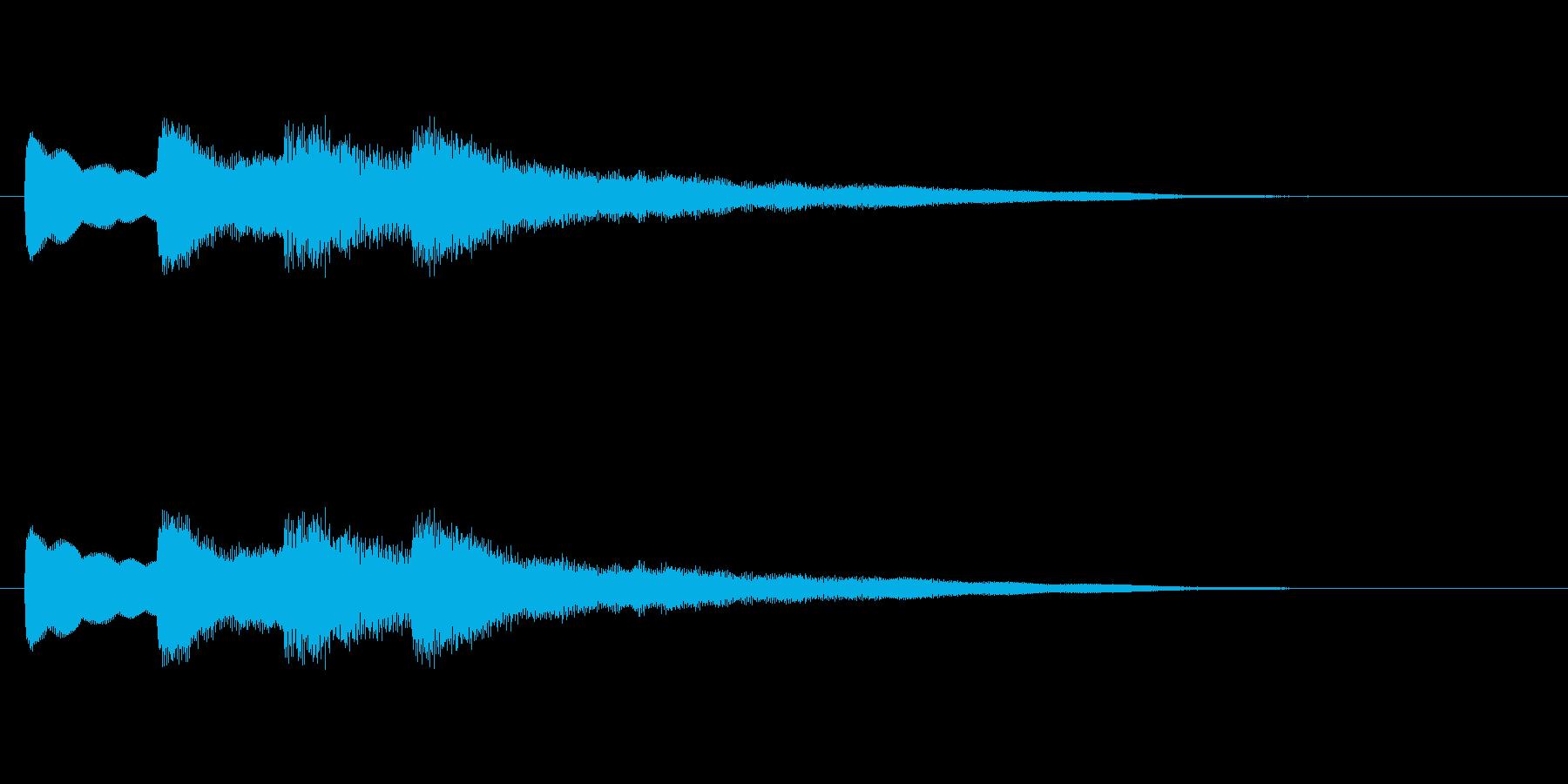 【チャイム 学校02-06】の再生済みの波形
