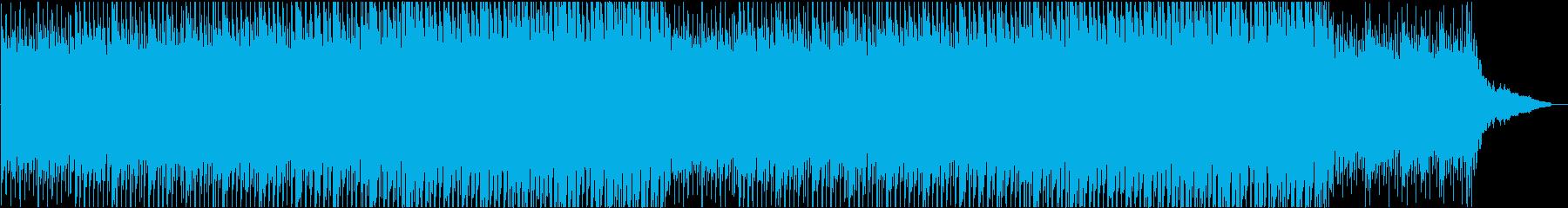ギターとピアノの明るいポップな企業CMの再生済みの波形