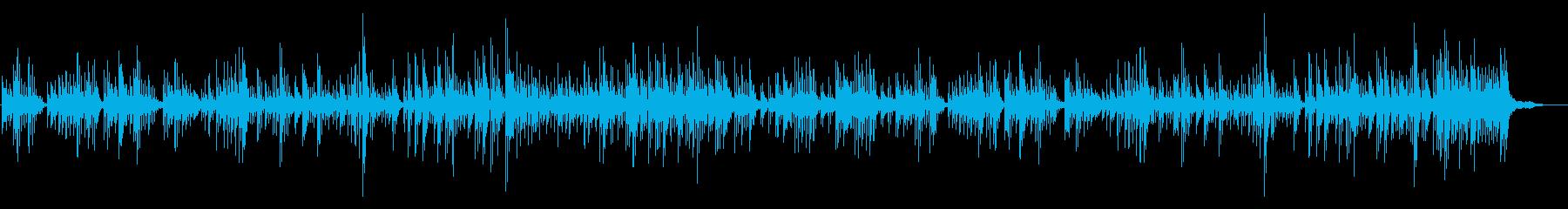 不協和音のメロディーと興味をそそる...の再生済みの波形