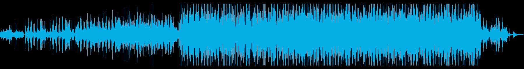 未来に希望を感じる感動的なインスト曲の再生済みの波形