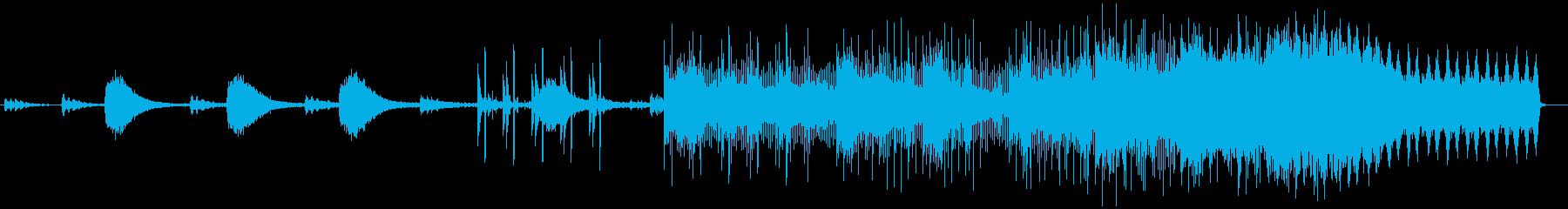 ダークなエレクトロ 今っぽいスリラーに!の再生済みの波形