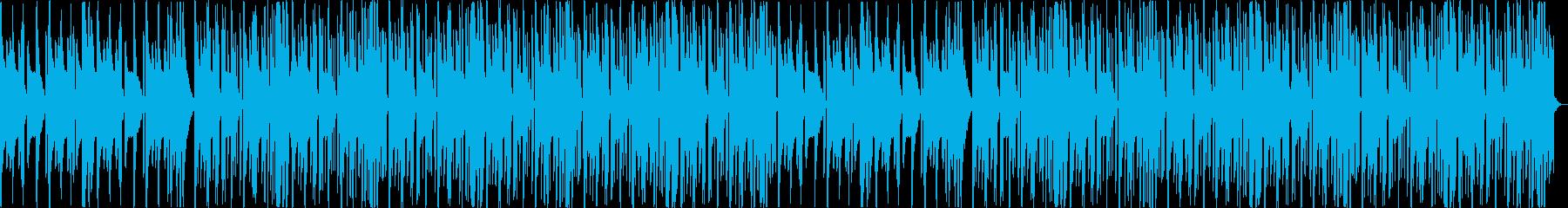 怪しい不気味コミカルなヒップホップaの再生済みの波形