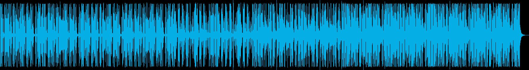 ビートの強いヒップホップ_No445_2の再生済みの波形