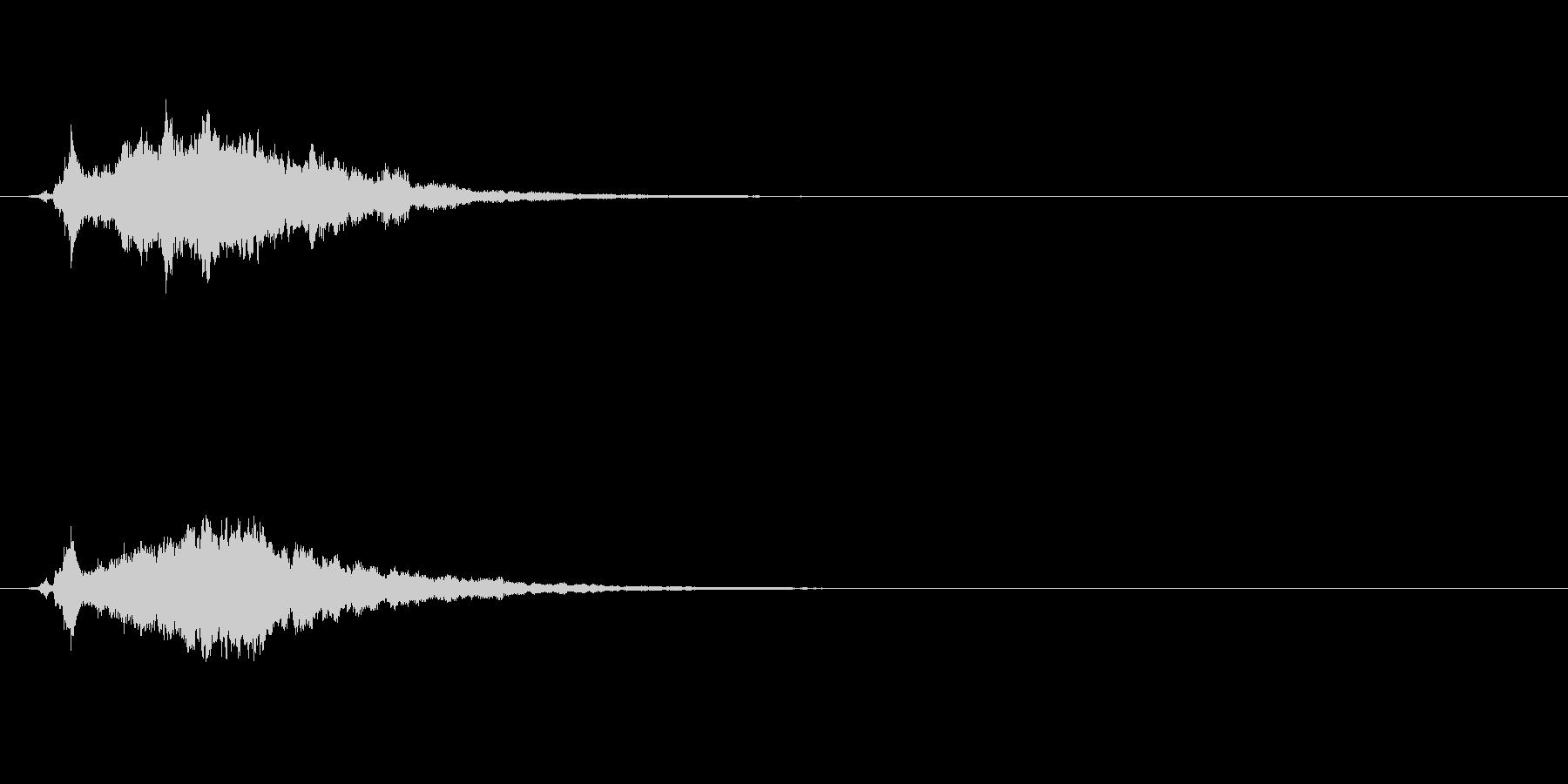 【サウンドロゴ】ベル系シンセ_01の未再生の波形