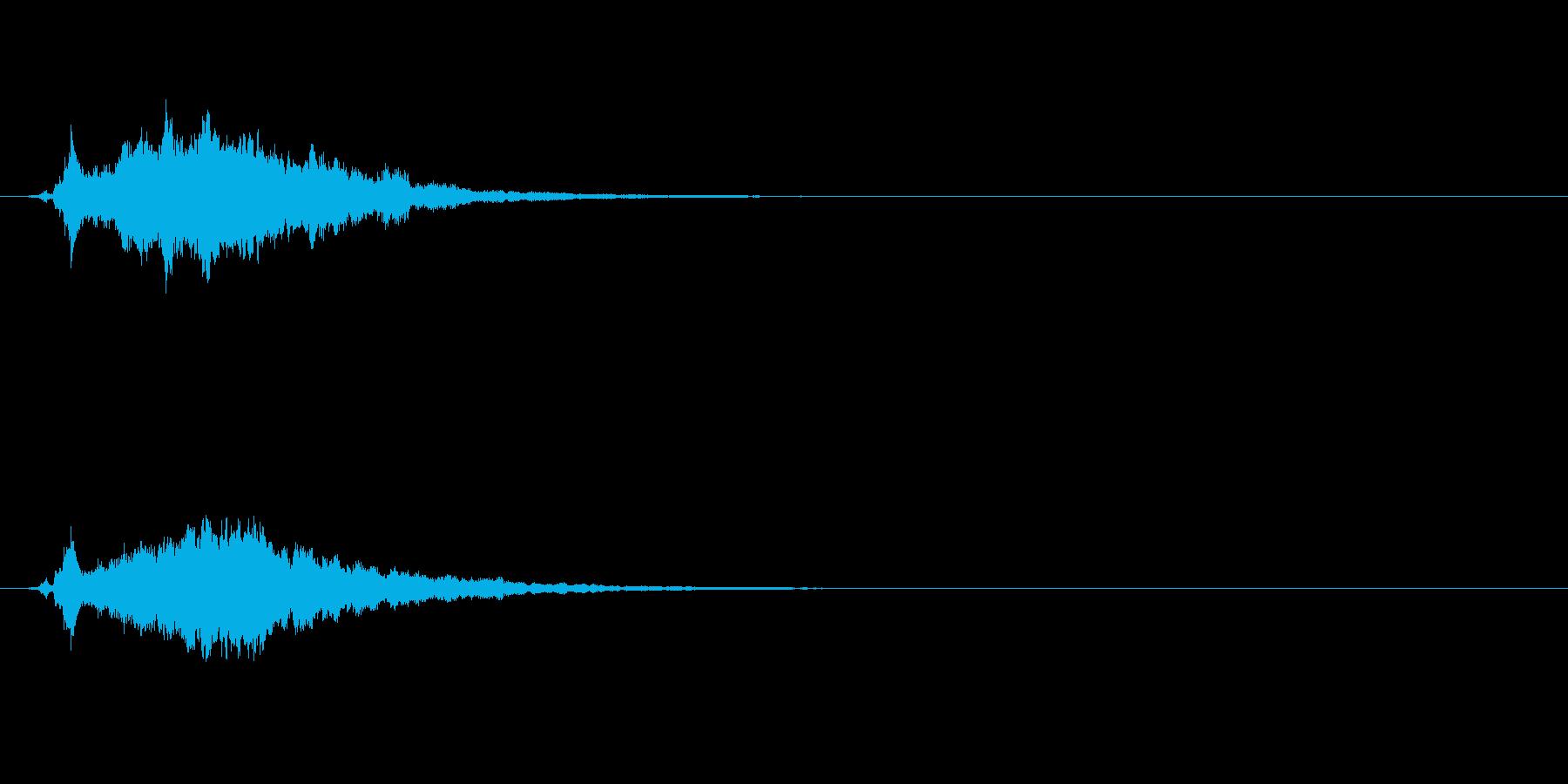 【サウンドロゴ】ベル系シンセ_01の再生済みの波形