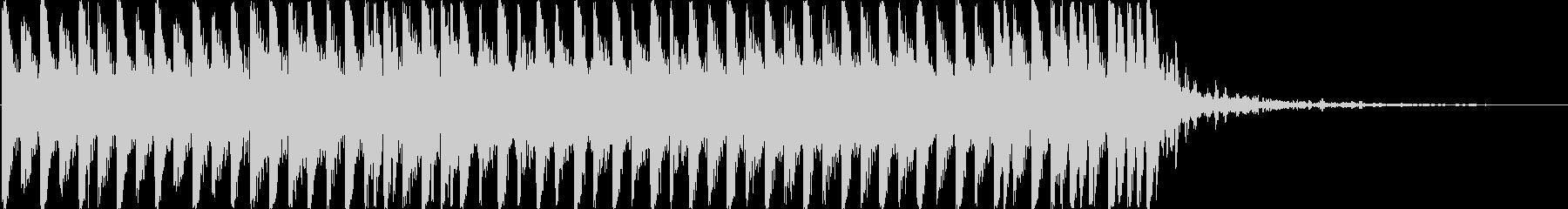 【効果音なし】透明でおしゃれなシンセショの未再生の波形