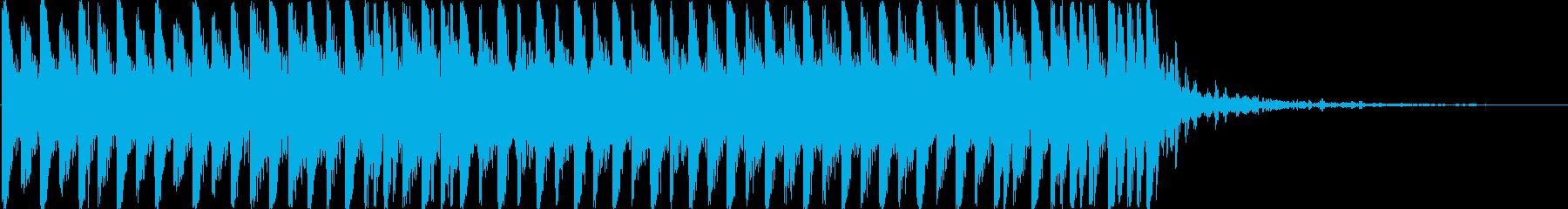 【効果音なし】透明でおしゃれなシンセショの再生済みの波形