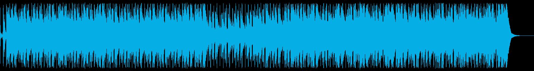 エレキギター 創造未来明るいコーポレートの再生済みの波形