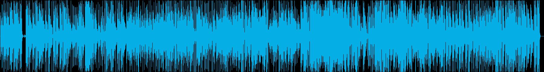 フュージョン ジャズ ブルース ア...の再生済みの波形