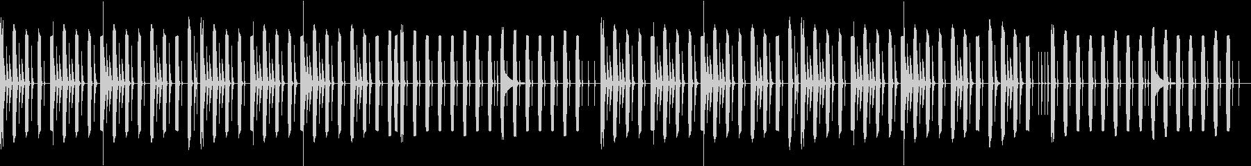 可愛げのあるいたずら、たくらみ(ループ)の未再生の波形