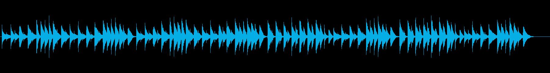 やさしいピアノ、チェルニーNo.1の再生済みの波形