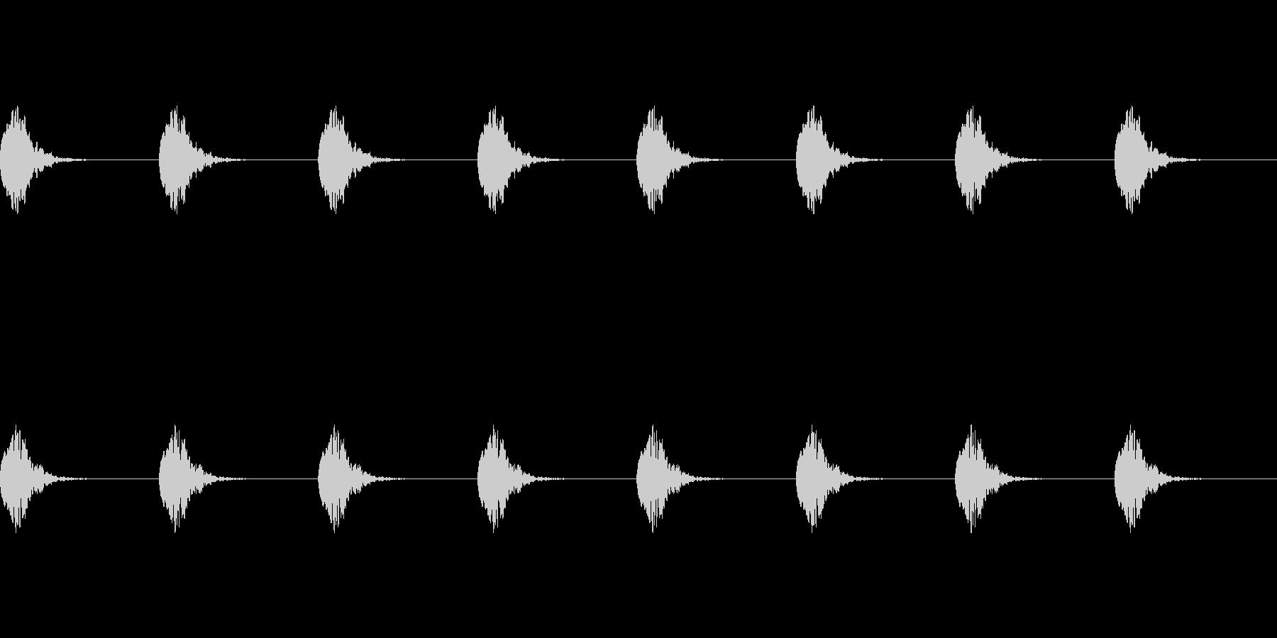 【誘導音 横断歩道01-4L】の未再生の波形