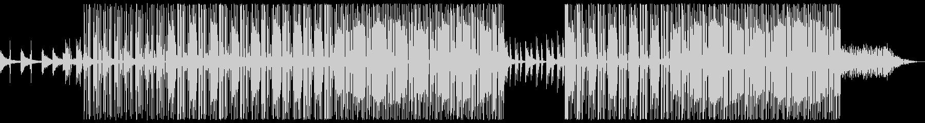 怪しい 深夜 トラップビートの未再生の波形