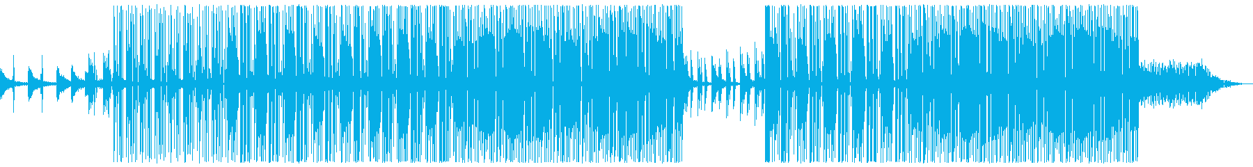 怪しい 深夜 トラップビートの再生済みの波形