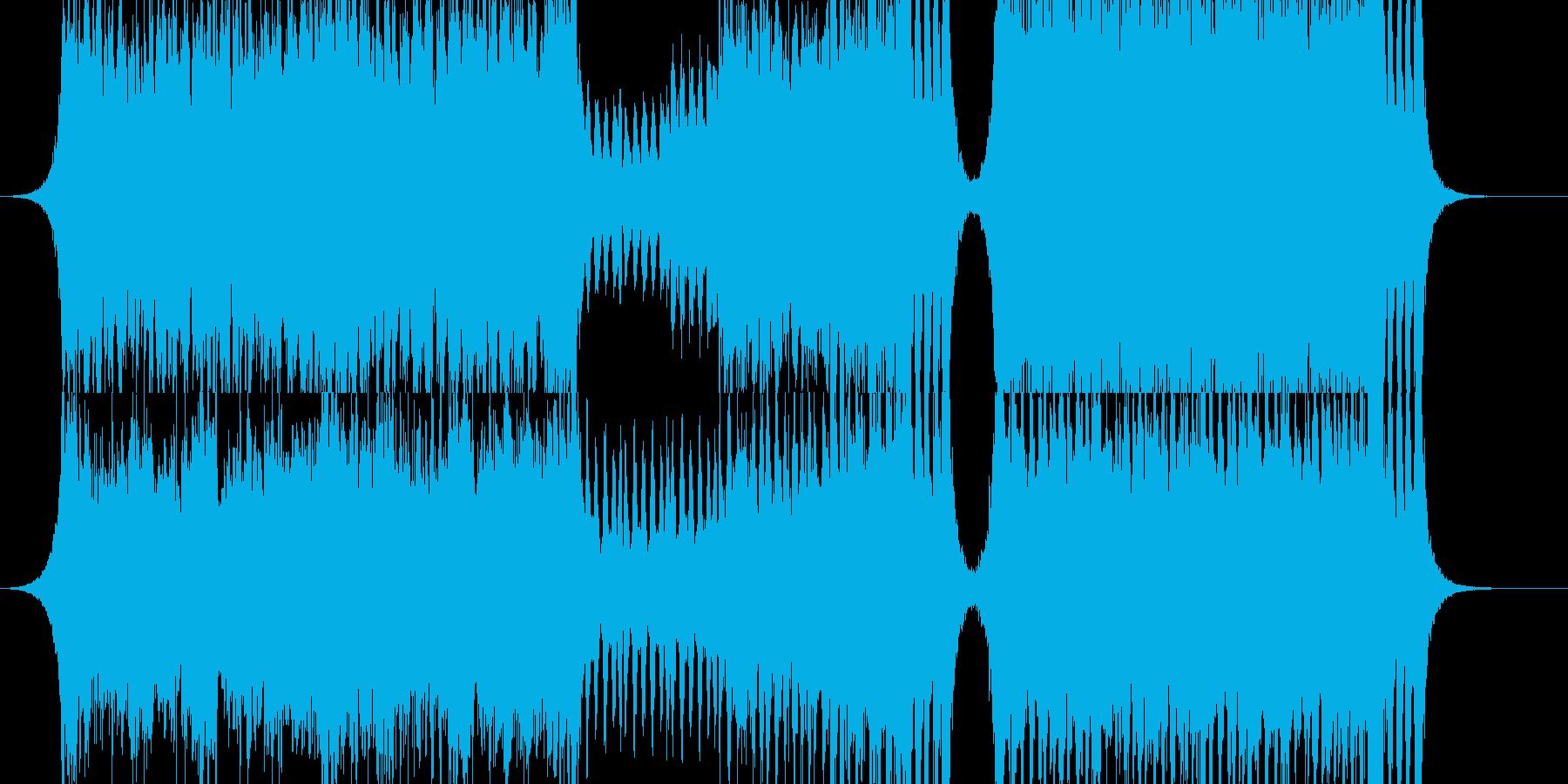 緊迫感のあるオーケストラ RPGバトルの再生済みの波形