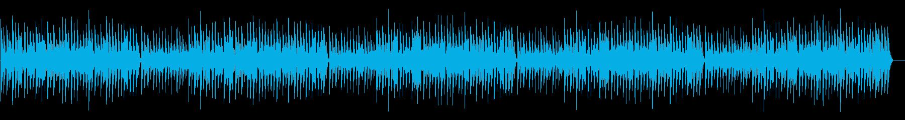 ほのぼの脱力系「お正月」年末年始の再生済みの波形