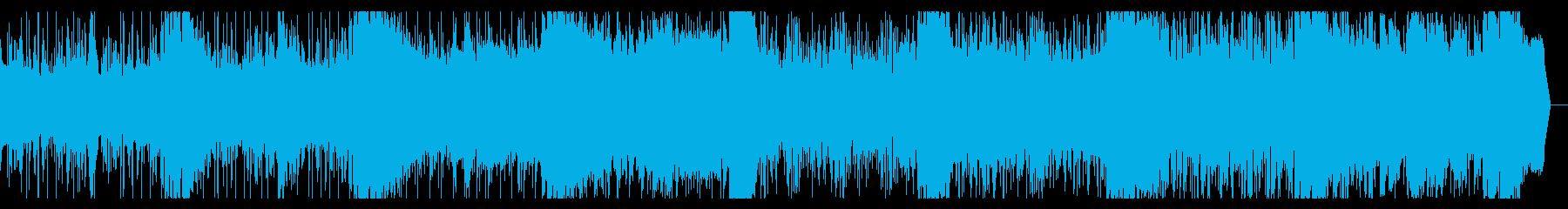 ゆったり仄暗いアンビエントIDMの再生済みの波形