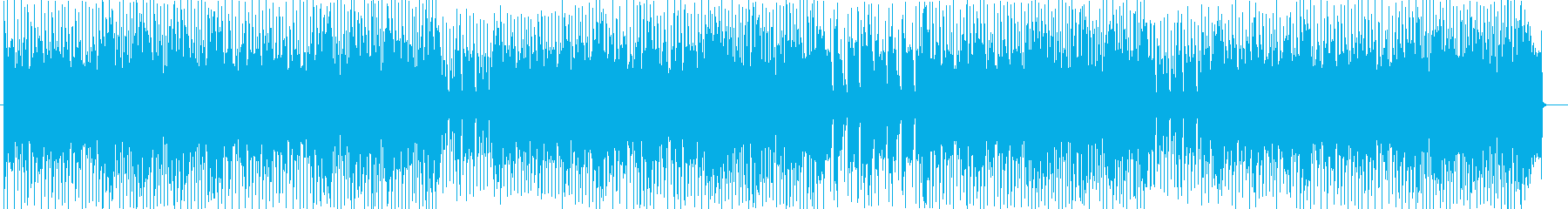 バトルゲームBGMテクノ風サウンドの再生済みの波形