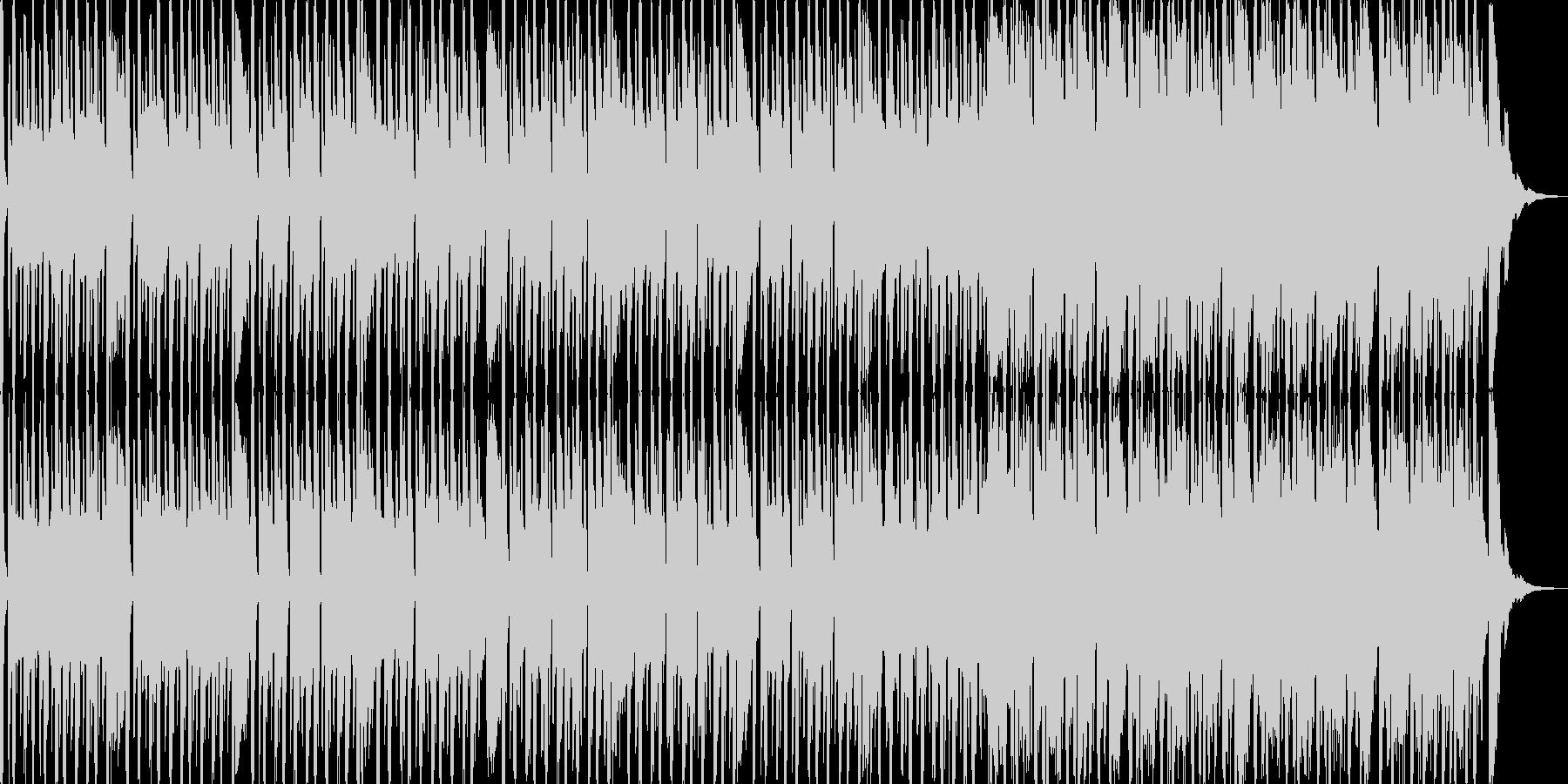 明るめのレゲエ調の曲です。よろしくお願…の未再生の波形