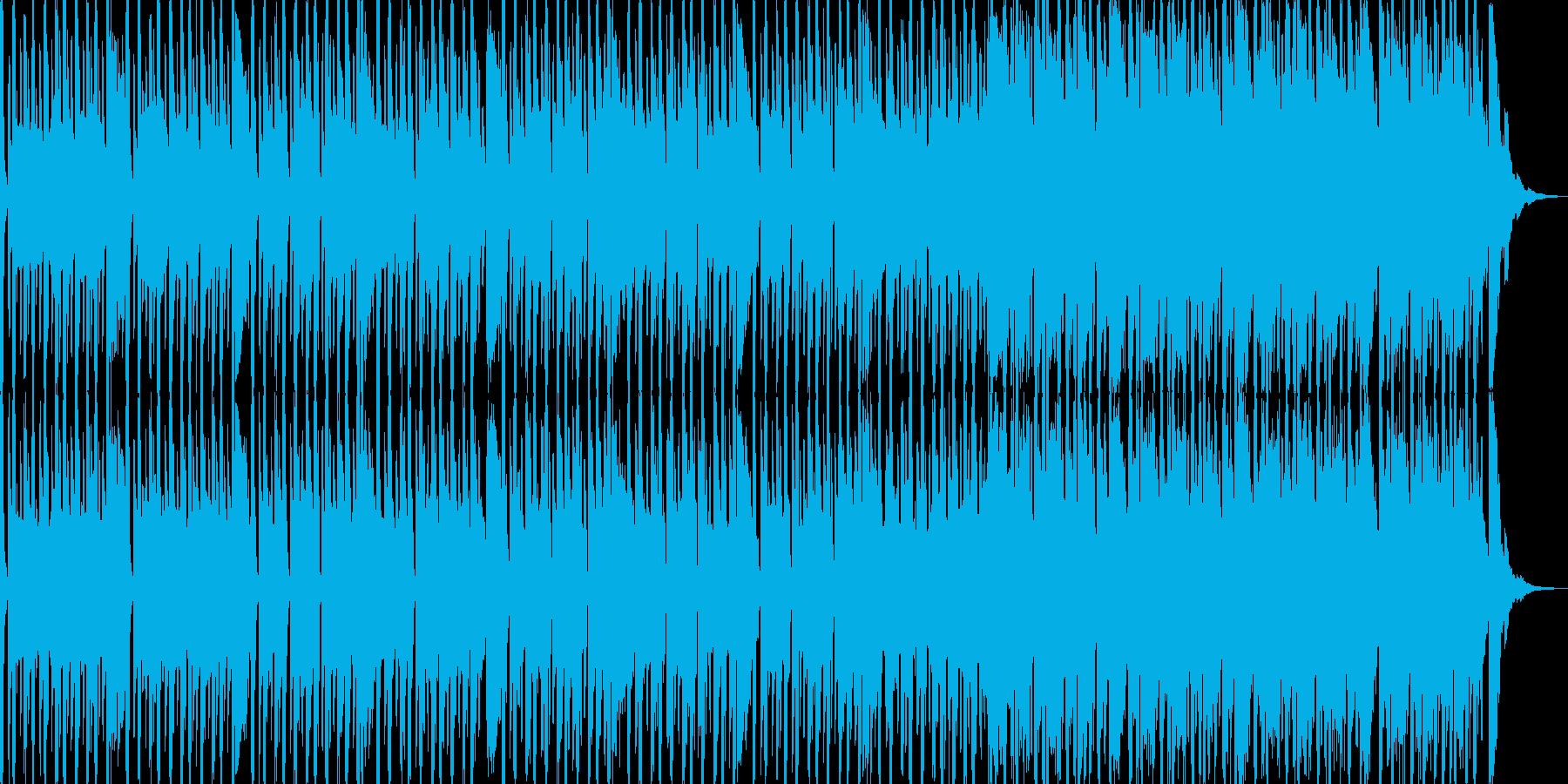 明るめのレゲエ調の曲です。よろしくお願…の再生済みの波形