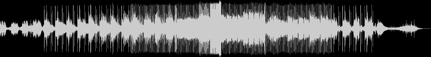 ダークでアップチューンなEDM風のBGMの未再生の波形